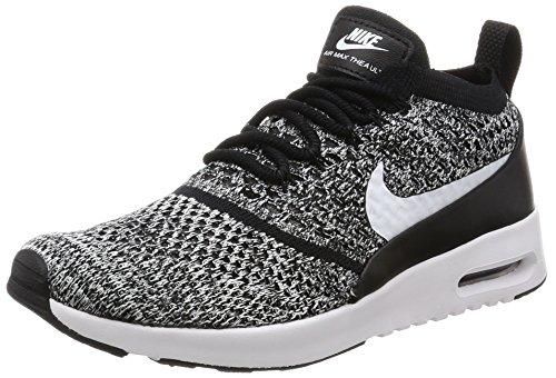 Nike Damen W Air Max Thea Ultra Fk Laufschuhe, Schwarz (Black/White), 38 EU