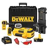 DEWALT Laser Level & Laser Detector Kit, Self Leveling, Rotary, 18V (DW079KD)