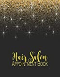 Hair Salon Appointment Book: With 2020-2021 Calendar Dated Weekly With 15 Minute Time Increments Daily Monthly Calendar Planner Organizer for Hair ... for...