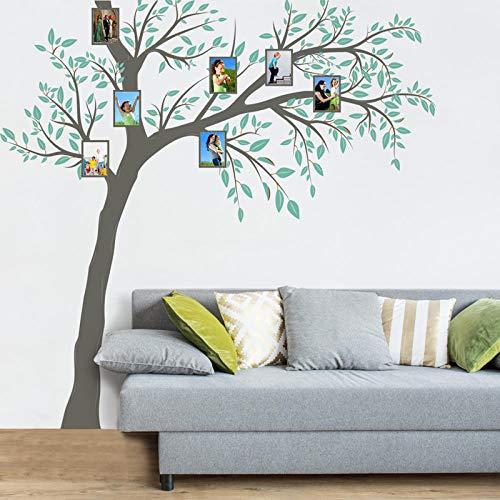 Wandaufkleber Schlafzimmer Büro Wohnzimmer Wanddeko - Selbstklebende große Baumfoto-Wandmalerei