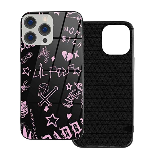 Funny Design Lil Peep Xxtentacion Phone Case for iPhone 7 8 Plus X XR XS 11 11Pro 11 ProMax 12 Mini Pro Max Case Non-Slip TPU Protective Case