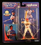 Starting Lineup Mark MCGWIRE / ST. Louis Cardinals 1998 MLB Extended Series Action Figure & Exclusive Collector Trading Card
