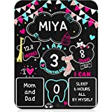 Baby Monatliche Meilenstein Tafel Baby Foto Requisit 11 x 14
