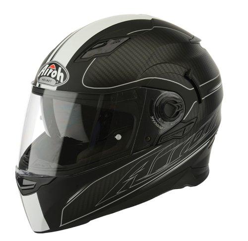 Airoh Helme Movement Far, schwarz-weiß, Größe : L
