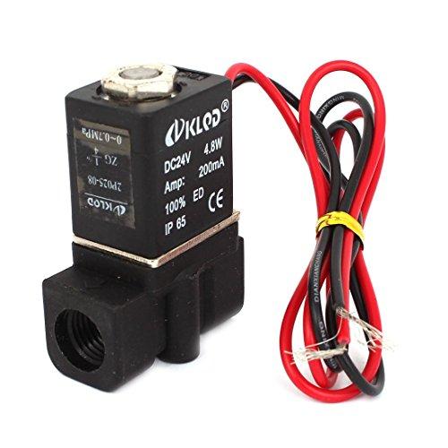 1/4 2/2 PT manera neumática eléctrica de la válvula solenoide de aire...