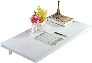 GFF Table de Salle à Manger Table Murale Table Murale Pliable Ordinateur Mural Fixe Type Mural Supports de Table Murale (T...