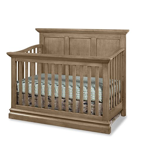 Westwood Design Pine Ridge 4 in 1 Panel Convertible Crib, Cashew