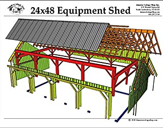 post and beam barn plans free