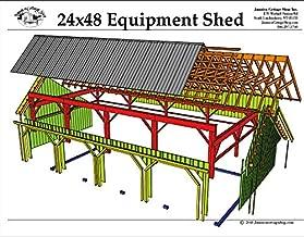 four bay garage plans