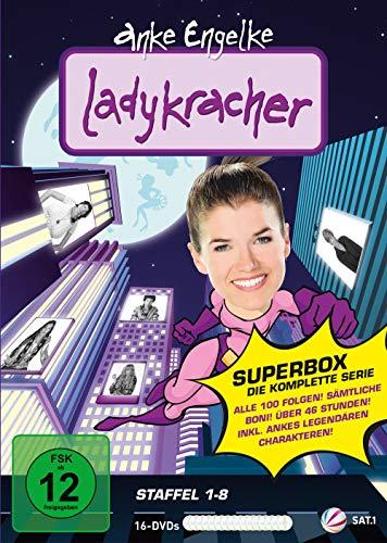 Ladykracher - Die Super-Box - Staffel 1-8 [16 Discs]