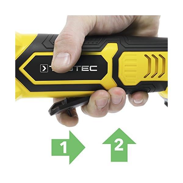 TROTEC Amoladora angular de batería PAGS 20-115
