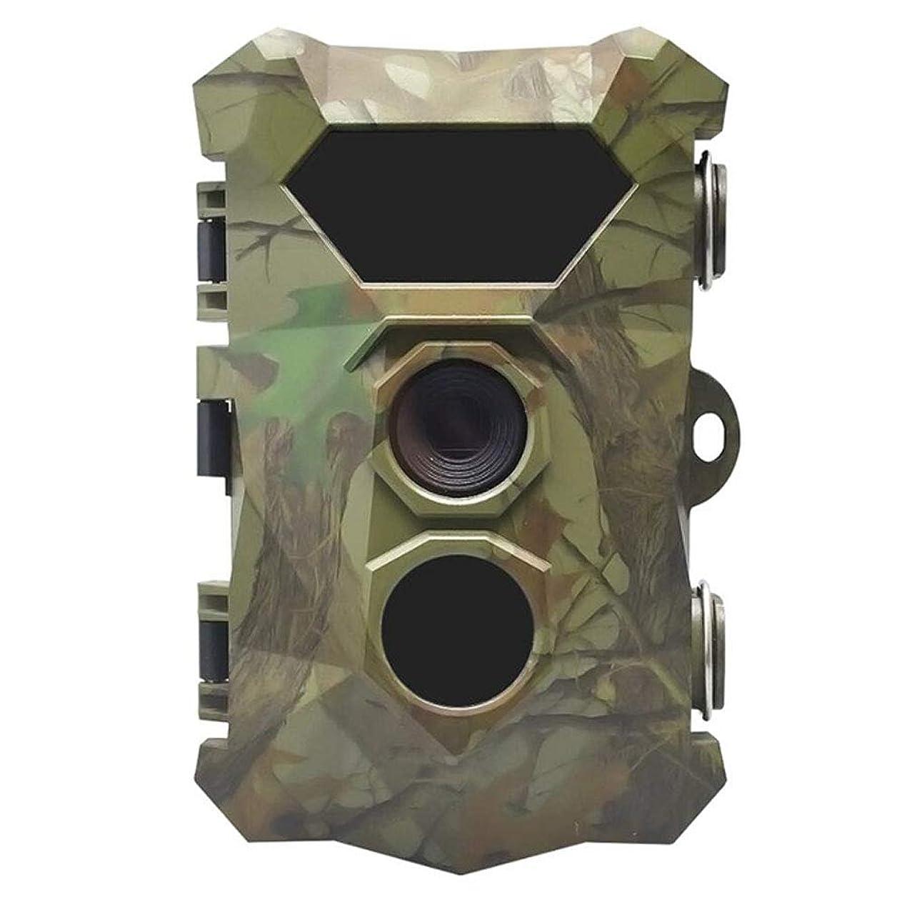 配送先のことを考える補体トレイルカメラ、検出動作付き16MP 1080 P狩猟ゲームカメラ0.2秒トリガースピードで防水野生生物狩猟カム