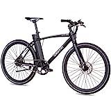CHRISSON 28 Zoll E-Bike City Bike eOCTANT schwarz matt - Elektrofahrrad Urban Bike mit Aikema...
