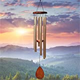 "UpBlend Outdoors Large Wind Chime - The Classic Havasu is 38"" Total Length - Hand-Tuned and Beautiful as a Gift or for Your Patio, Garden, and Outdoor Home décor"