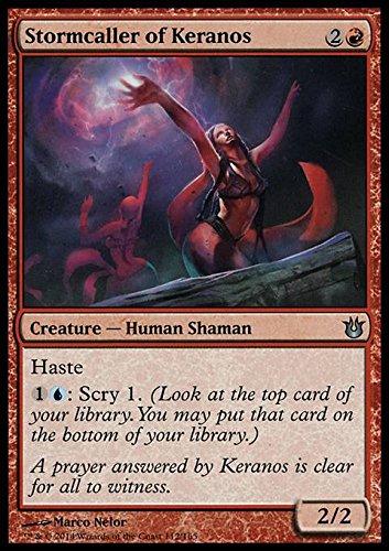 Magic: the Gathering - Llamador de tormentas de Keranos (112/165) - Nacido de los dioses por Magic: the Gathering