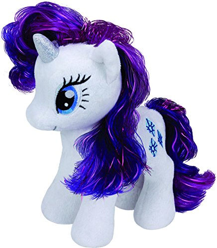 Ty - TY90206 - Beanie Babies My Little Pony Soft Toy – Rarity
