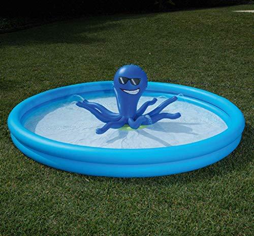 DFKDGL Klapppool Swimmingpool, Kinderbecken, Baby Ponton 317 * 94cm Gartenpool, Fun Backyard Fountain Game Pa Ideal für alle Kinder und Erwachsene
