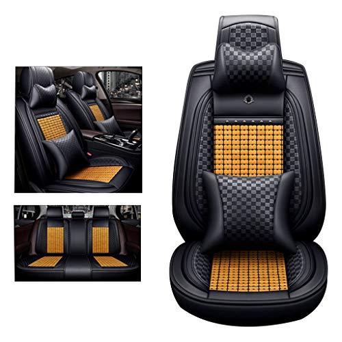 Accessoires auto-zitkussen Bamboo all-inclusive auto-koelkussen Four Seasons Universal 5-zits autostoelhoes met hoofdkussen
