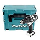 Makita DHP482ZWJ - Taladro atornillador de percusión (18 V, incluye estuche Makpac (se vende solo)