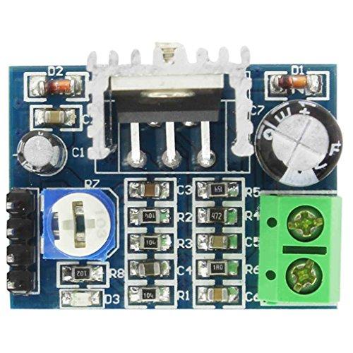 Aiming TDA2030 TDA2030A Potencia de Audio Módulo de amplificación de 18W Mono Voz Suena Amplificador Tablero del módulo de 6-12V