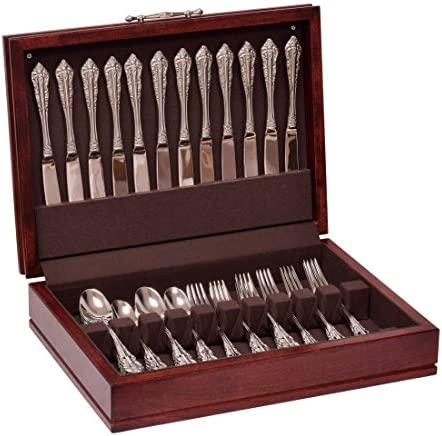 American Chest F00M Traditions Flatware Chest Solid American Cherry Hardwood with Rich Mahogany product image