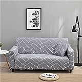 MKQB Funda de sofá elástica Moderna para Sala de Estar, Funda Protectora de sofá para Muebles, Funda Protectora Antideslizante para Mascotas n. ° 1 2seat-M- (145-185cm