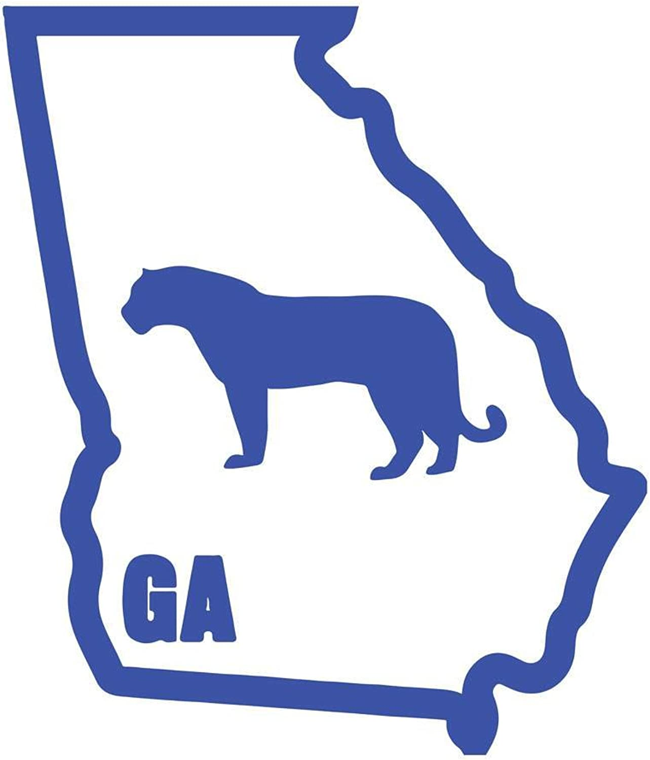 Original I Panther Georgia Classic Vinyl Decal