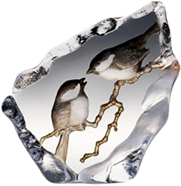 Mats Jonasson Chickadee Crystal MAT33949