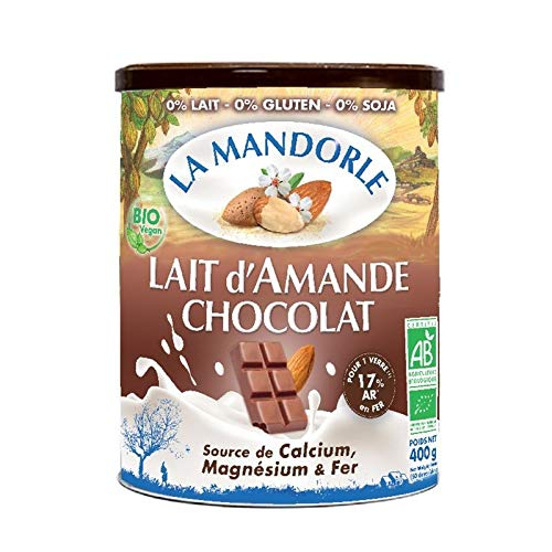 Mandelmilchpulver Schokolade