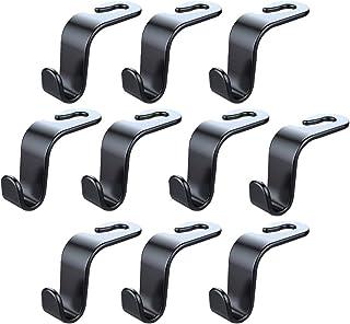 BESPORTBLE 10pcs Car Headrest Hangers Car Seat Hooks Backseat Storage Racks for Car Use