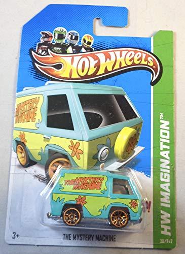 Hot Wheels, 2012 HW Imagination, Scooby Doo! The Mystery Machine Green 38/247