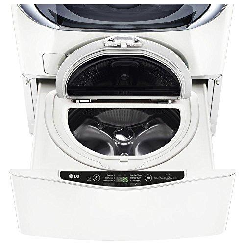 LG 27' SideKick White Pedestal Washer