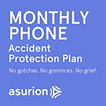 Asurion 3 Year Mobile Accident Protection Plan with Tech Support ($250-$299.99), Billed Monthly, Cancel Any Time