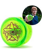 YoyoFactory SPINSTAR Yo-Yo (Genial para Principiantes, Juego Yoyo Moderno, Cuerda e Instrucciones Incluidas)