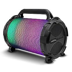 Avec le nouveau haut-parleur Bocooka d'Audiocore avec un éclairage LED à changement de couleur, la pièce peut démarrer! Un choix idéal pour les soirées karaoké et autres célébrations similaires! Éclairage LED à changement de couleur - Interface: AUX,...
