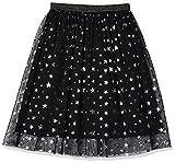 Spotted Zebra Maxi Tutu Skirt Skirts, Black Multi-Stars, S