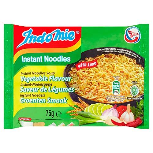 Indomie Instant Noodles Gemüsearoma mit Limette, 40er Pack (40 x 75 g)