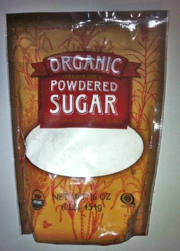 Trader Joe's Organic Powdered Sugar From Evaporated Cane Juice