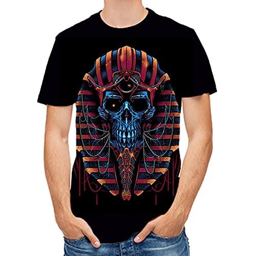 SSBZYES Camisetas De Verano para Hombre Camisetas De Talla Grande para Hombre Camisetas Estampadas De Moda para Hombre Camisetas De Fondo De Verano para Hombre Tops Casuales para Hombre