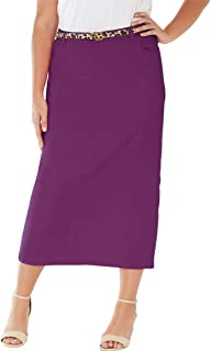 021e8b3547 Amazon.com: Jessica London - Skirts / Plus-Size: Clothing, Shoes ...