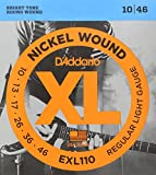 D'Addario EXL110 - Juego de cuerdas para guitarra eléctrica de níquel, 010' - 046'