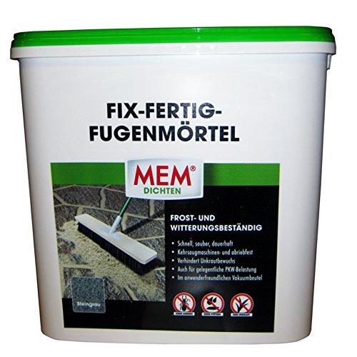 MEM Fix-Fertig-Fugenmörtel 12,5 kg steingrau