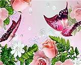 ZXDA Frameles DIY Pintura por números Imagen por números Paisaje Pared Arte Pintura acrílica para decoración del hogar Arte A13 50x65cm
