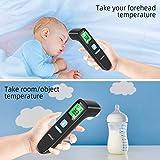 Immagine 2 ankovo termometro febbre infrarossi digitale