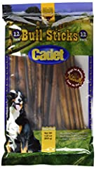 Made from grass-fed free-range cattle No by-products, fillers, or preservatives Cleans teeth and helps prevent tartar build up Cadet Gourmet real meat snacks Grain and Gluten Free