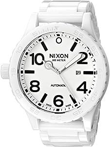 Nixon Ceramic 51-30 Watch - Men's All White, One Size