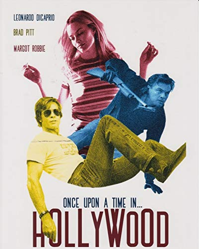 直輸入、大きな写真「ワンス・アポン・ア・タイム・イン・ハリウッド」レオナルド・ディカプリオ、ブラッド・ピット、マーゴット・ロビー、21019