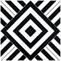 Achim Home Furnishings RTFTV60420 Retro 12x12 Self Adhesive Vinyl Floor Tile-Geometric-20 Tiles/20 sq. ft, Geometric