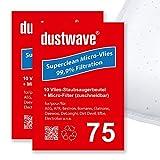 40filtro de polvo bolsa (Super Pack) Adecuado para Bomann–B 26–Aspiradora–dustwave® Marca Bolsa para el polvo–Fabricado en Alemania + Incluye Micro de filtro