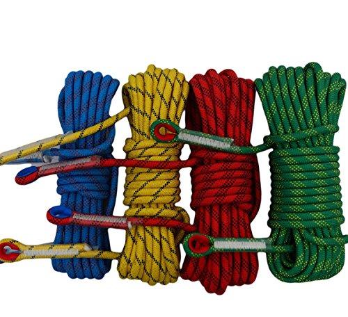 12 mm corde statique d'escalade/Survie/extérieur Fournitures 40 mm Green